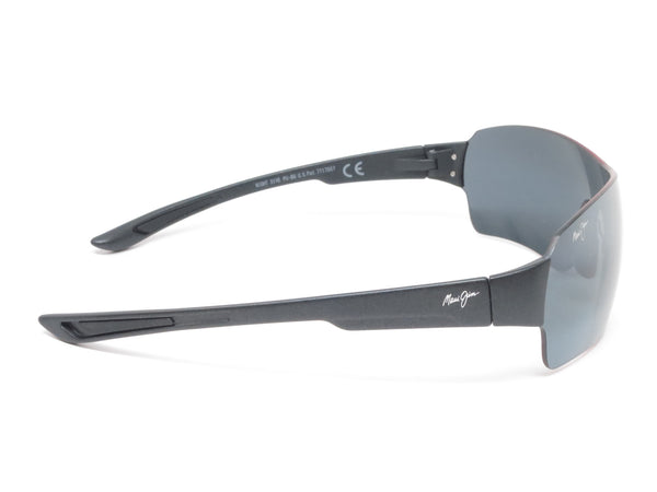 Maui Jim Night Dive MJ 521-2M Matte Black Polarized Sunglasses - Eye Heart Shades - Maui Jim - Sunglasses - 4