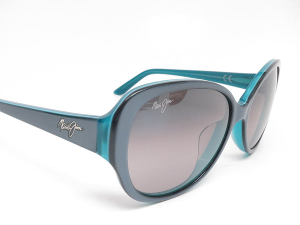 Maui Jim Swept Away MJ GS733-06B Blue Grey w/Teal Interior Polarized Sunglasses