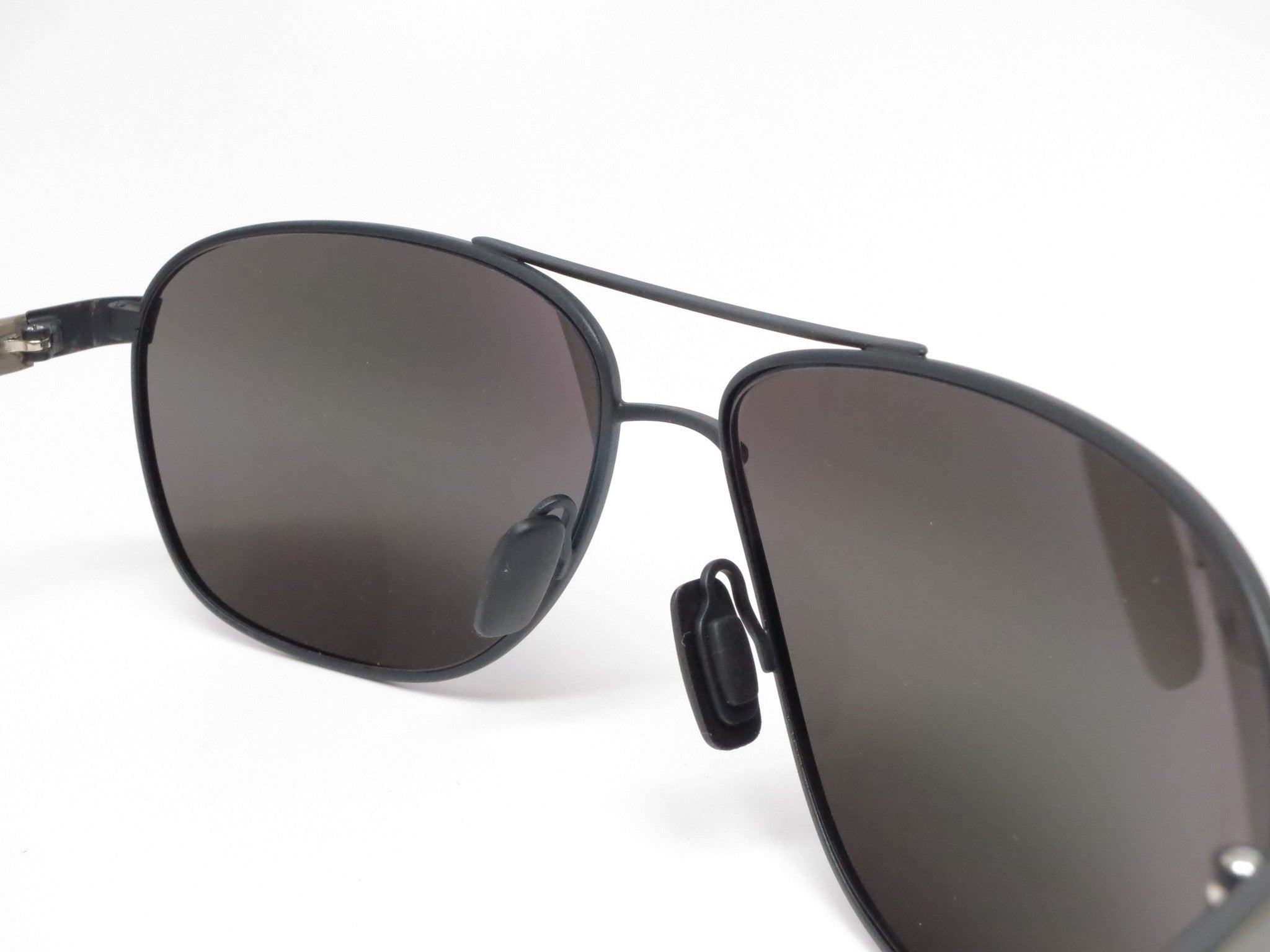 33082280308c Maui Jim Castles MJ 728-2M Matte Black Polarized Sunglasses - Eye ...