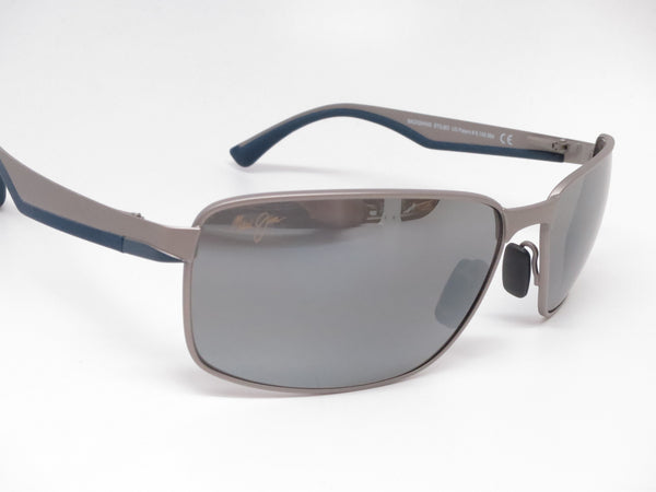 Maui Jim Backswing MJ 709-14A Satin Grey Polarized Sunglasses