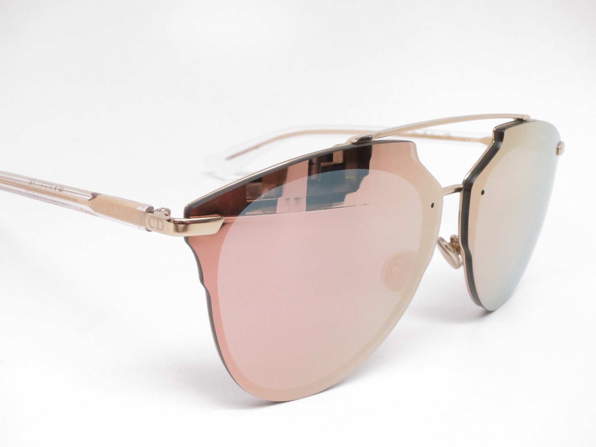 3a11bf215c Dior Reflected P S5ZRG Gold Crystal Pixel Mirrored Sunglasses - Eye ...