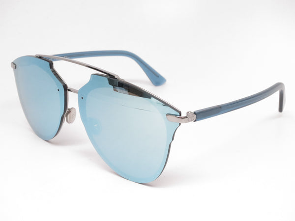 Dior Reflected P S62RQ Ruthenium Blue Pixel Mirrored Sunglasses