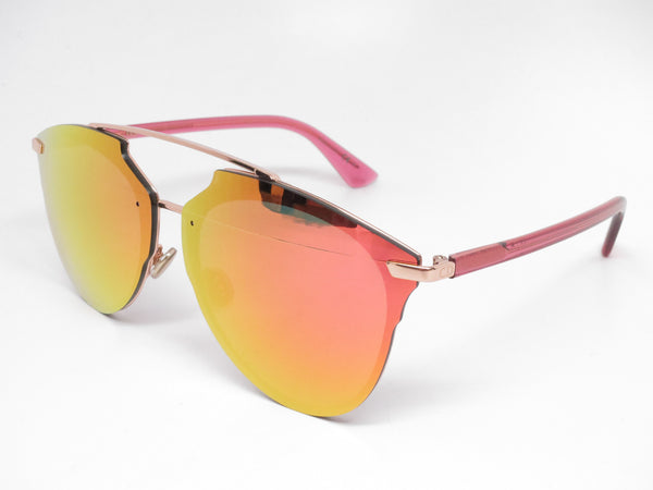 Dior Reflected P S6DRR Gold Red Pixel Mirrored Sunglasses
