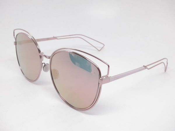 Dior Sideral 2 JA00J Pink w/Gray Rose Gold Sunglasses