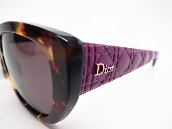 Dior Lady 2R GRVK2 Havana Light Blue Cat Eye Sunglasses - Eye Heart Shades - Dior - Sunglasses - 3