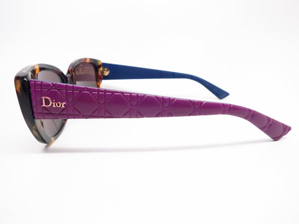 Dior Lady 2R GRVK2 Havana Light Blue Cat Eye Sunglasses - Eye Heart Shades - Dior - Sunglasses - 5