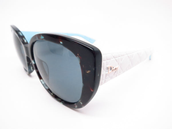 Dior Lady 1R GRZNL Green Havana White Blue Sunglasses - Eye Heart Shades - Dior - Sunglasses - 1