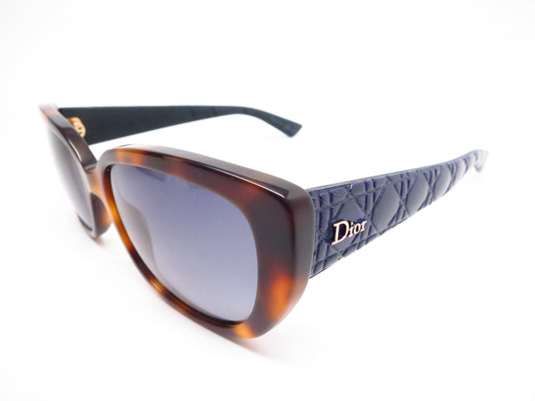 Dior Lady 2R GRSHD Havana Blue Cat Eye Sunglasses - Eye Heart Shades - Dior - Sunglasses - 1