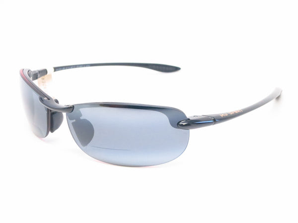 Maui Jim Makaha G805 Gloss Black Bifocal Readers Polarized Sunglasses - Eye Heart Shades - Maui Jim - Sunglasses - 1
