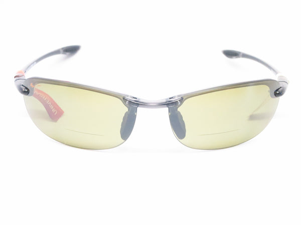 Maui Jim Makaha HT805N (Universal Fit) Transparent Smoke Grey Bifocal Readers Polarized Sunglasses - Eye Heart Shades - Maui Jim - Sunglasses - 2
