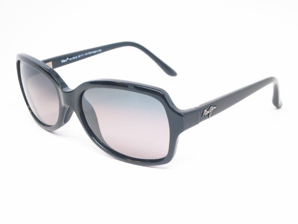 Maui Jim Cloud Break GS700-02 Gloss Black Polarized Sunglasses - Eye Heart Shades - Maui Jim - Sunglasses - 1