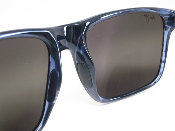 Maui Jim Flat Island 705-03S Blue Stripe Polarized Sunglasses - Eye Heart Shades - Maui Jim - Sunglasses - 4