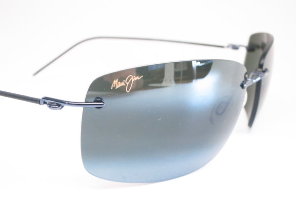 Maui Jim Frigate 716-06 Gunmetal Blue / Black Sleeve Polarized Sunglasses - Eye Heart Shades - Maui Jim - Sunglasses - 3