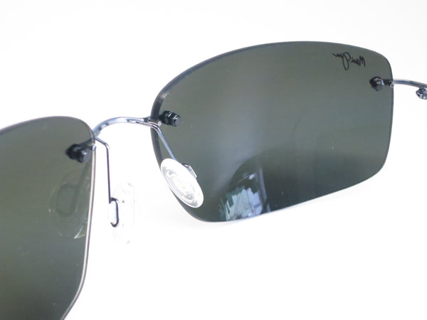 Maui Jim Frigate 716-06 Gunmetal Blue / Black Sleeve Polarized Sunglasses - Eye Heart Shades - Maui Jim - Sunglasses - 6