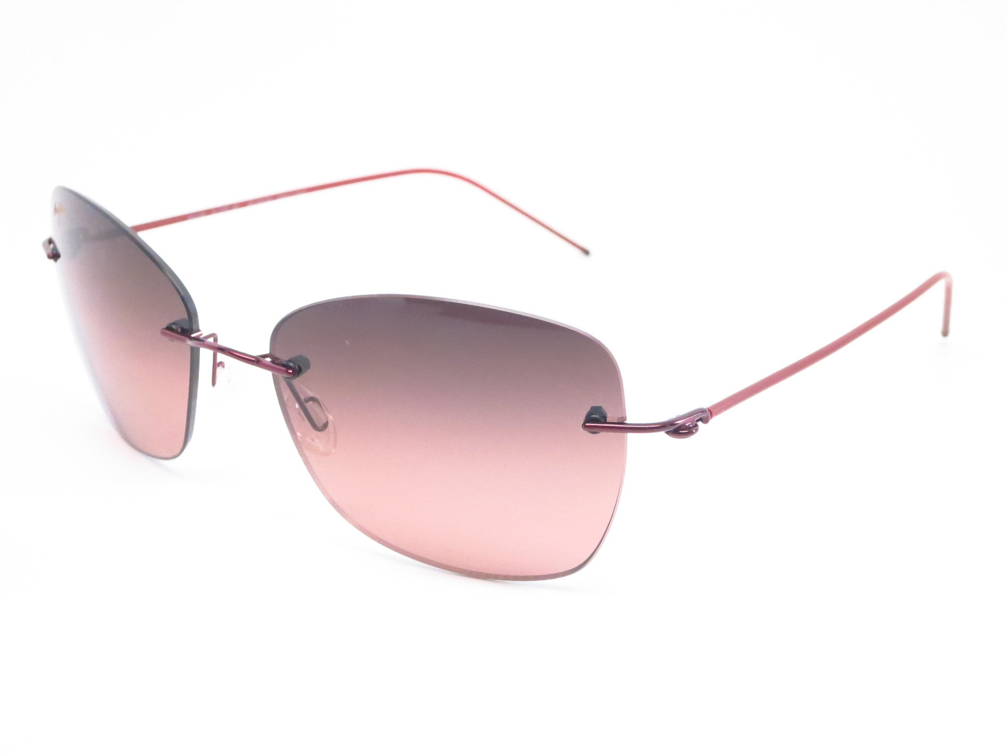 a2d1cf1da68a Maui Jim Apapane MJ RS717-07 Burgandy/Red sleeve Polarized Sunglasses - Eye  Heart ...