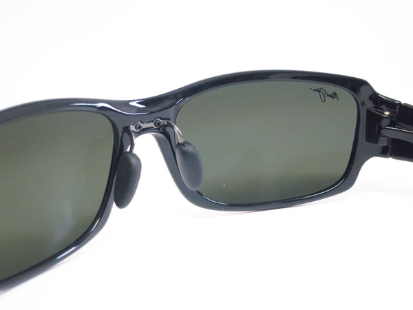 Maui Jim Bamboo Forest 415-02J Black Gloss Fade Polarized Sunglasses - Eye Heart Shades - Maui Jim - Sunglasses - 5