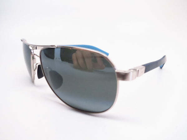 Maui Jim Guardrails MJ 327-17 Silver with Blue & Light Blue Polarized Sunglasses - Eye Heart Shades - Maui Jim - Sunglasses - 1