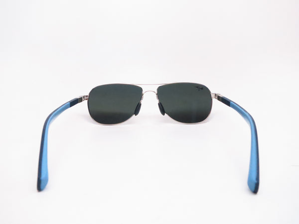 Maui Jim Guardrails MJ 327-17 Silver with Blue & Light Blue Polarized Sunglasses - Eye Heart Shades - Maui Jim - Sunglasses - 7
