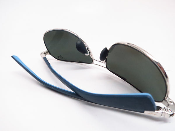 Maui Jim Guardrails MJ 327-17 Silver with Blue & Light Blue Polarized Sunglasses - Eye Heart Shades - Maui Jim - Sunglasses - 8