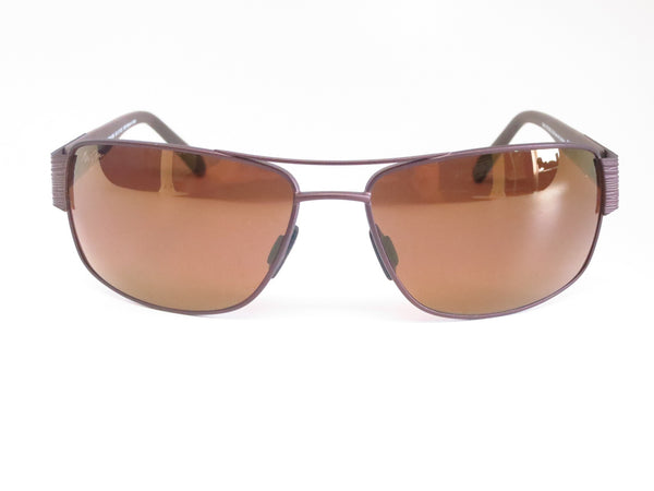 Maui Jim Ohia H703-01M Chocolate with Brown Tips Polarized Sunglasses - Eye Heart Shades - Maui Jim - Sunglasses - 2