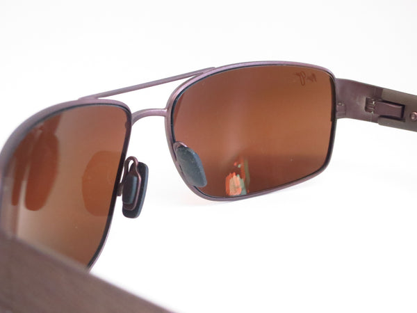 Maui Jim Ohia H703-01M Chocolate with Brown Tips Polarized Sunglasses - Eye Heart Shades - Maui Jim - Sunglasses - 4