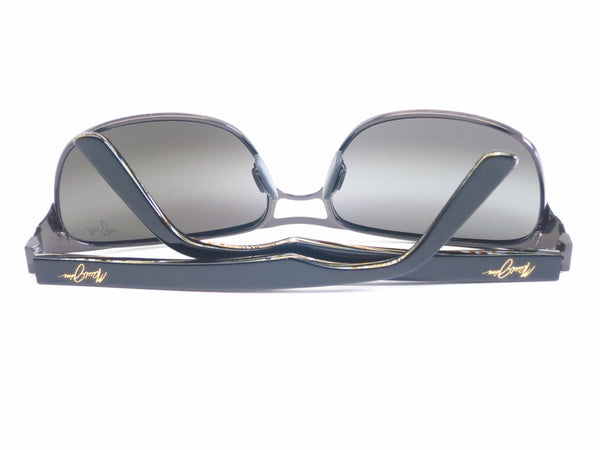 Maui Jim Hang Ten 10 MJ 296-02F Gunmetal Polarized Sunglasses - Eye Heart Shades - Maui Jim - Sunglasses - 10