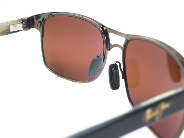 Maui Jim Hang Ten 10 MJ 296-20A Bronze Polarized Sunglasses - Eye Heart Shades - Maui Jim - Sunglasses - 5