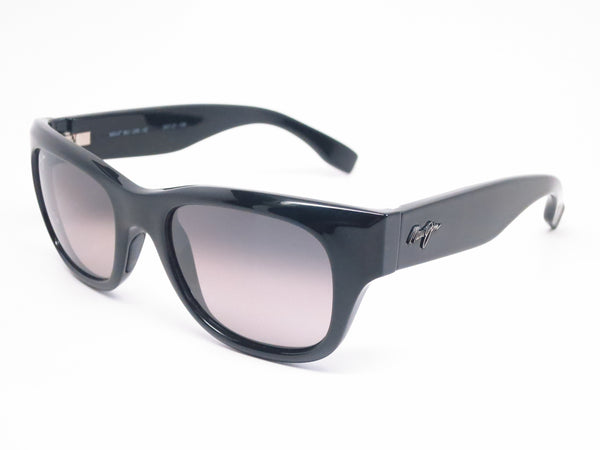 Maui Jim Kahoma MJ GS285-02 Black Polarized Sunglasses - Eye Heart Shades - Maui Jim - Sunglasses - 1