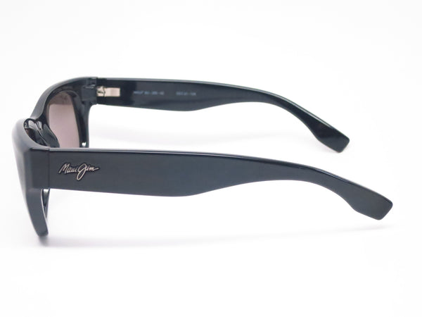 Maui Jim Kahoma MJ GS285-02 Black Polarized Sunglasses - Eye Heart Shades - Maui Jim - Sunglasses - 3