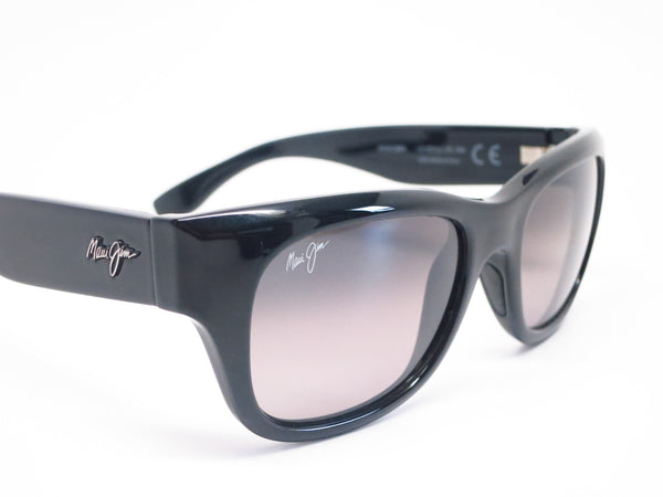 Maui Jim Kahoma MJ GS285-02 Black Polarized Sunglasses - Eye Heart Shades - Maui Jim - Sunglasses - 4