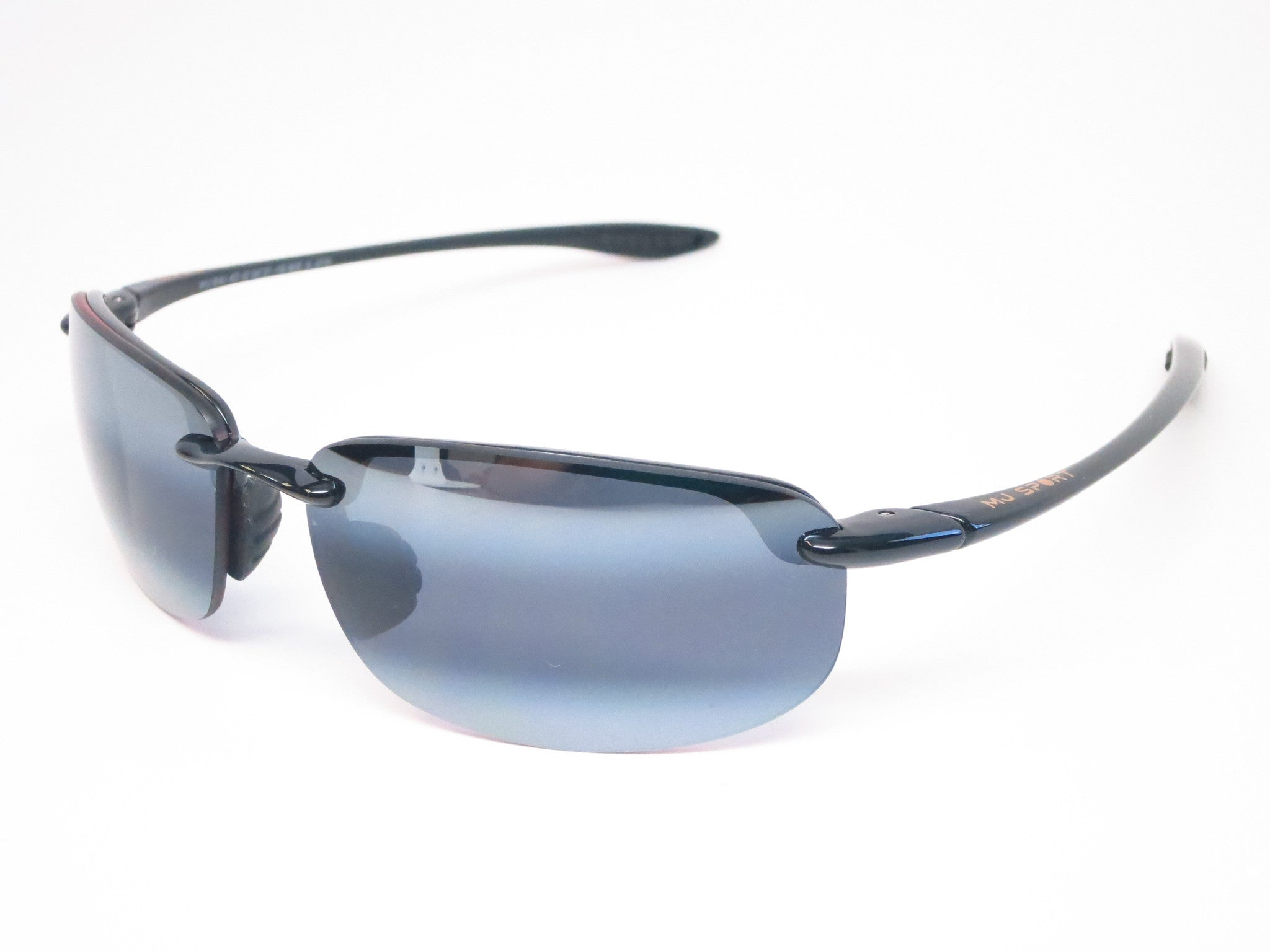 af35fca1377 Maui Jim Hookipa 407-02 Gloss Black Polarized Sunglasses - Eye Heart Shades  - Maui ...
