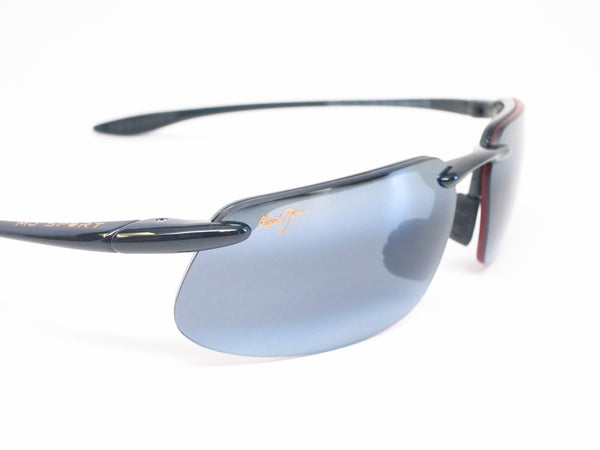 Maui Jim Kanaha 409-02 Gloss Black Polarized Sunglasses - Eye Heart Shades - Maui Jim - Sunglasses - 4
