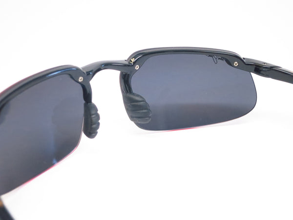 Maui Jim Kanaha 409-02 Gloss Black Polarized Sunglasses - Eye Heart Shades - Maui Jim - Sunglasses - 5
