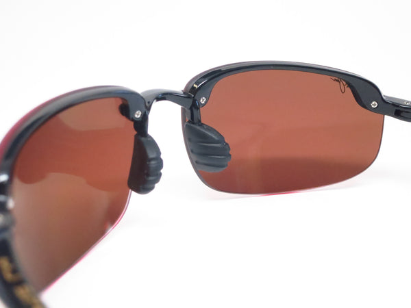 Maui Jim Hookipa H407-02 Gloss Black Polarized Sunglasses - Eye Heart Shades - Maui Jim - Sunglasses - 5