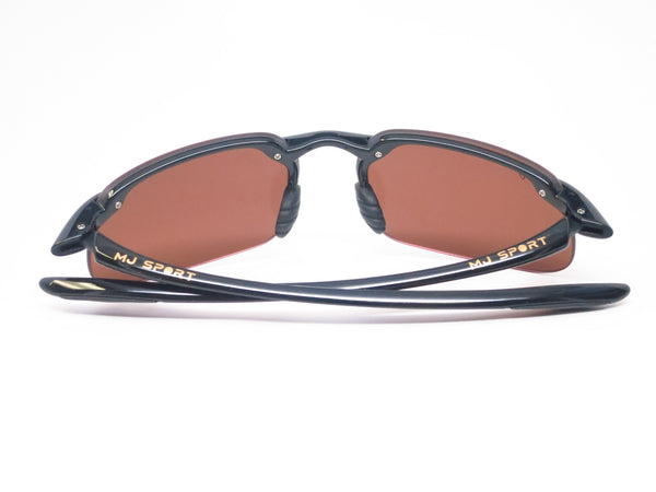 Maui Jim Kanaha H409-02 Gloss Black Polarized Sunglasses - Eye Heart Shades - Maui Jim - 11