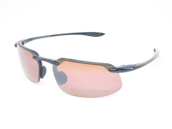 Maui Jim Kanaha H409-02 Gloss Black Polarized Sunglasses - Eye Heart Shades - Maui Jim - 1