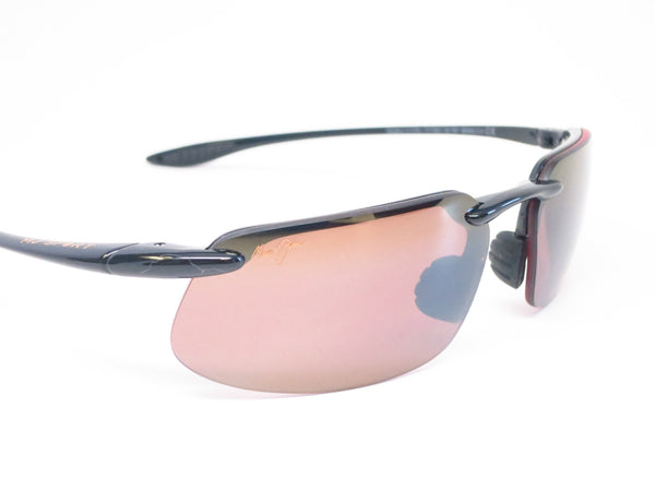 Maui Jim Kanaha H409-02 Gloss Black Polarized Sunglasses - Eye Heart Shades - Maui Jim - 4