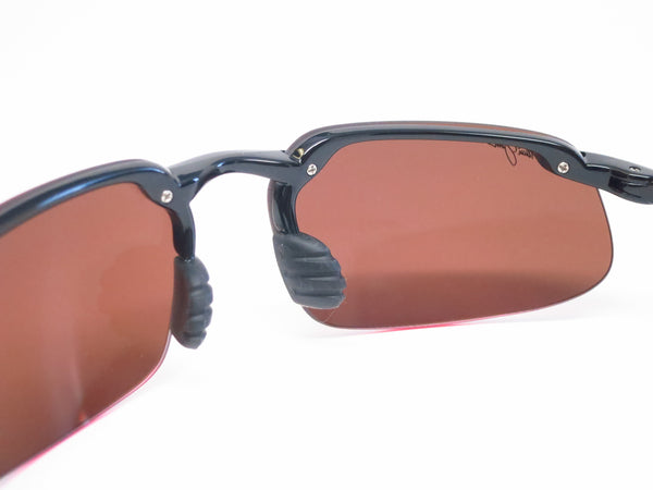 Maui Jim Kanaha H409-02 Gloss Black Polarized Sunglasses - Eye Heart Shades - Maui Jim - 5