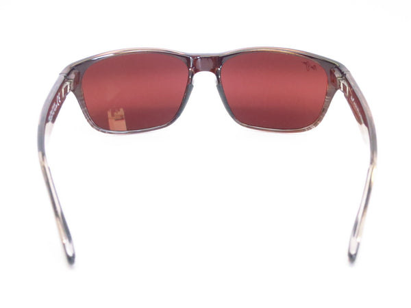 Maui Jim MJ R721-01 Mixed Plate Chocolate Stripe Fade Polarized Sunglasses - Eye Heart Shades - Maui Jim - Sunglasses - 10