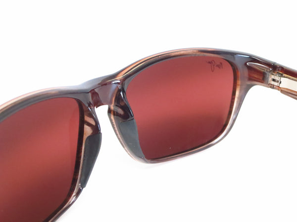 Maui Jim MJ R721-01 Mixed Plate Chocolate Stripe Fade Polarized Sunglasses - Eye Heart Shades - Maui Jim - Sunglasses - 6