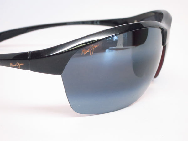 Maui Jim Middles MJ 428-02E Black Gold Polarized Sunglasses - Eye Heart Shades - Maui Jim - Sunglasses - 4