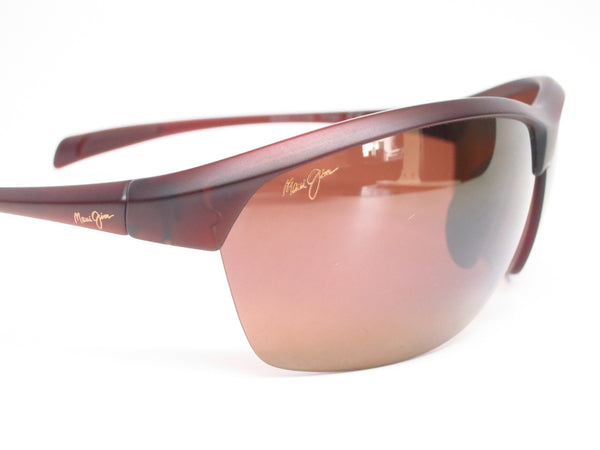 Maui Jim Middles H428-26M Matte Rootbeer Polarized Sunglasses - Eye Heart Shades - Maui Jim - Sunglasses - 4