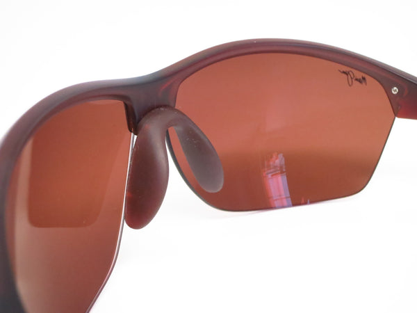 Maui Jim Middles H428-26M Matte Rootbeer Polarized Sunglasses - Eye Heart Shades - Maui Jim - Sunglasses - 6