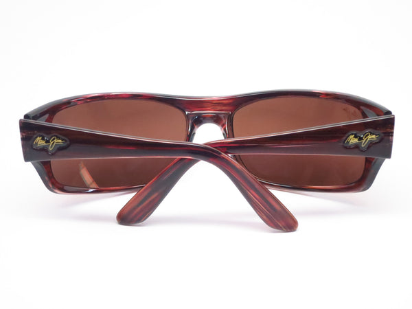 Maui Jim Peahi MJ 202-10 BurgundyTortoise Polarized Sunglasses - Eye Heart Shades - Maui Jim - Sunglasses - 10