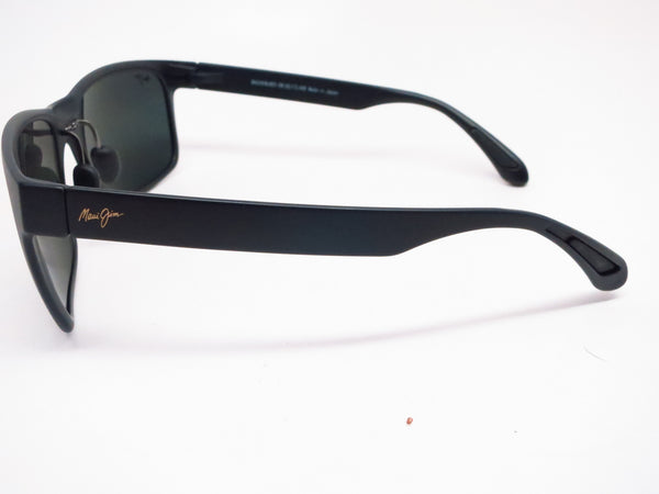 Maui Jim Red Sands MJ 432-2M Matte Black Polarized Sunglasses - Eye Heart Shades - Maui Jim - Sunglasses - 5