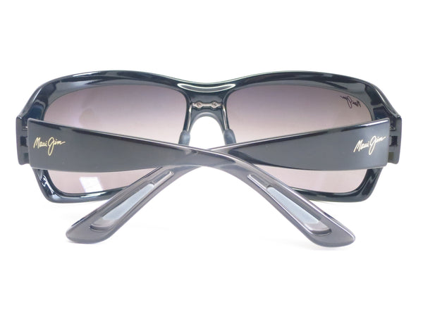 Maui Jim Seven Pools MJ RS418-02J Gloss Black Fade Polarized Sunglasses - Eye Heart Shades - Eye Heart Shades - Sunglasses - 12