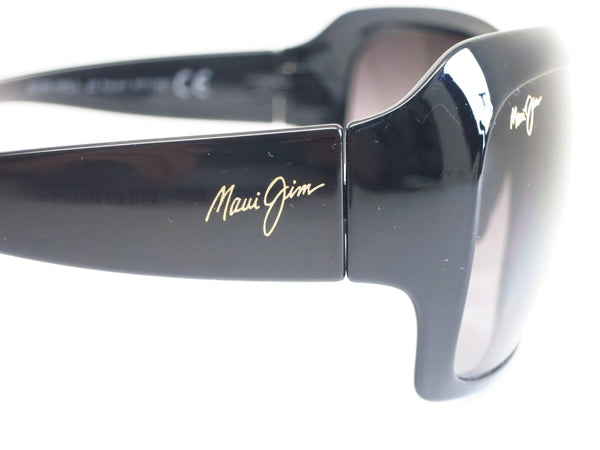 Maui Jim Seven Pools MJ RS418-02J Gloss Black Fade Polarized Sunglasses - Eye Heart Shades - Eye Heart Shades - Sunglasses - 5