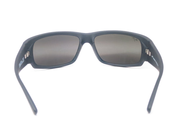Maui Jim World Cup MJ 266-02MR Dark Gunmetal/Black Polarized Sunglasses - Eye Heart Shades - Maui Jim - Sunglasses - 10