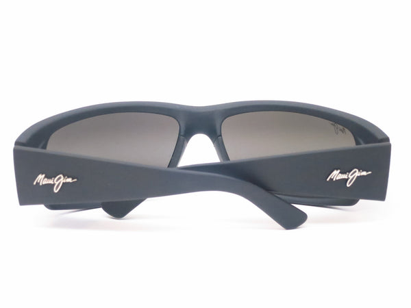 Maui Jim World Cup MJ 266-02MR Dark Gunmetal/Black Polarized Sunglasses - Eye Heart Shades - Maui Jim - Sunglasses - 11