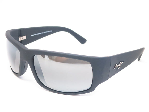 Maui Jim World Cup MJ 266-02MR Dark Gunmetal/Black Polarized Sunglasses - Eye Heart Shades - Maui Jim - Sunglasses - 1